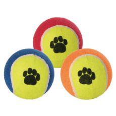 Tennisball für Hunde - bunt, 10 cm