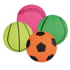 Hundeball - Sportball aus Gummi, 6 cm