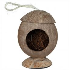 Häuschen für Nager - Kokos, angehängtes, 12 cm