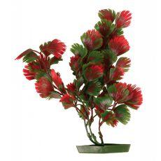 Aquariumpflanze aus Kunststoff, 25 cm rotgrüne Blätter