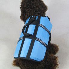 Rettungsweste für Hunde blau, XXS