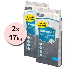 EMINENT Puppy Large Breed - 2x17kg