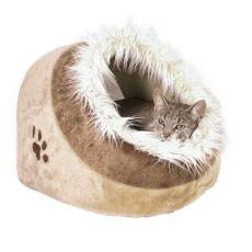 Plüschbett Minou für Hunde und Katzen - 41x30x50cm