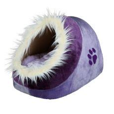 Violet Plüschbett Minou für Hunde und Katzen - 35x26x41cm