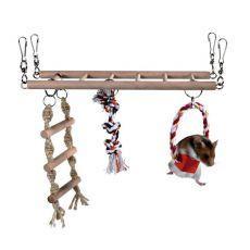 Leiter für kleine Nager - 29 x 25 x 9 cm