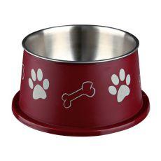 Napf für Hunde mit langen Ohren, braun - 0,9 L