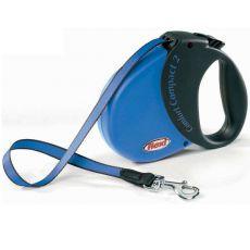 Flexi Comfort Compact 2 Gurtleine 5 m bis 25 kg - dunkelblau