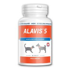 ALAVIS 5 Gelenkmittel für Hunde und Katzen - 90 Tab.