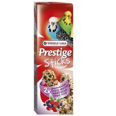 Stangen für Zwergpapageien Prestige Sticks 2Stk. - Waldfrüchte, 60g
