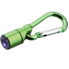 Flasher für Halsband für Hund oder Katze - grün, auf Batterien, 1 cm