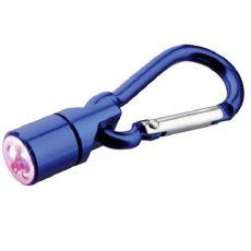 Flasher für Halsband für Hund oder Katze - blau, auf Batterien, 1 cm