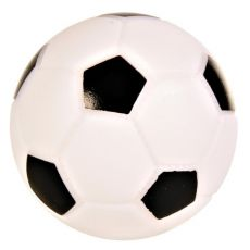 Hundespielzeug aus Vinyl - Fußball, 10 cm