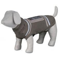 Rollkragenpullover für Hunde mit Rückenstickerei - S / 46cm