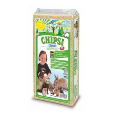 CHIPSI CLASSIC - Heimtierstreu, Hobelspäne für Nager 15L