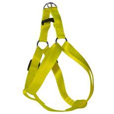 Geschirr für den Hund - neon-gelb, 2 x 40-60 cm