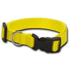 Hundehalsband neon gelb - 2 x 33-51 cm