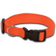 Hundehalsband neon orange - 2 x 33-51 cm