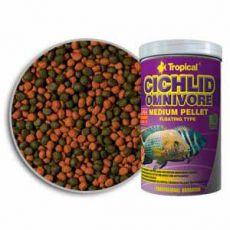 TROPICAL Cichlid Omnivore Medium Pellet 1000ml/360g