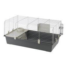 Käfig für Nager RABBIT 100 - grau
