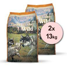 TASTE OF THE WILD High Prairie Puppy 2 x 13 kg