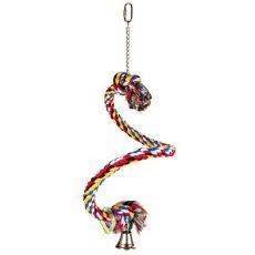 Spirale aus Baumwolle für Vögel - 50 cm