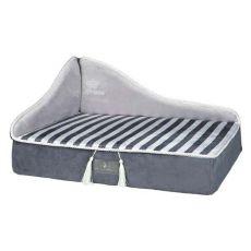 Bett für Hunde oder Katzen Prince Sofa, grau - 60 x 45 cm