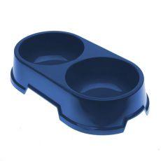 Doppelnapf für Hunde BUFFET 22 - blau, 2 x 500 ml