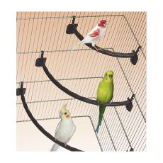 Stange für Vögel, Kunststoff, weiß - 1,2 x 15 cm
