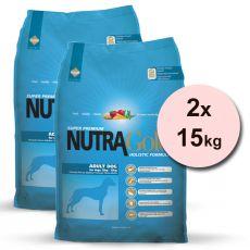 NUTRA GOLD HOLISTIC Adult dog 2 x 15 kg