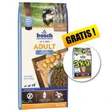 Bosch ADULT Fisch und Kartoffeln 15 kg + 3kg GRATIS