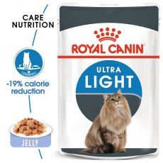 Royal Canin Ultra Light in Jelly 85 g - Gelee im Beutel