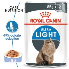 Royal Canin Ultra Light in Jelly 12 x 85 g - Gelee im Beutel